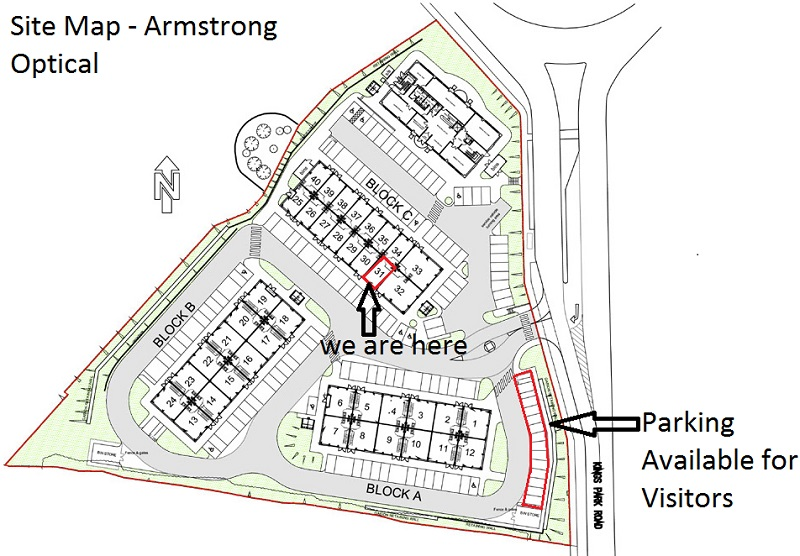 Site Map Armstrong Optical Find Us Address
